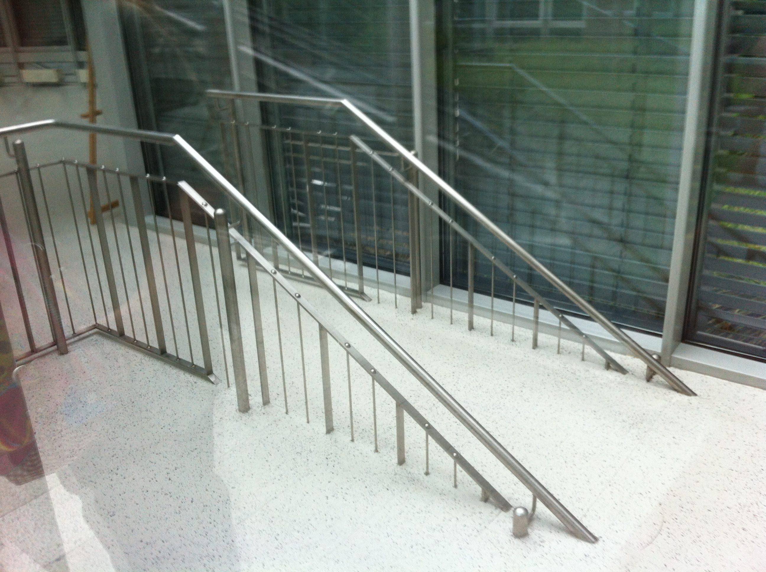 Treppe ohne Wiederkehr